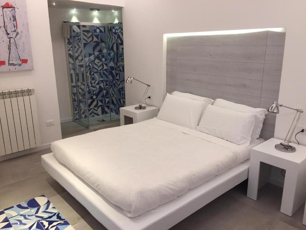 A bed or beds in a room at B&B Costa di Amalfi