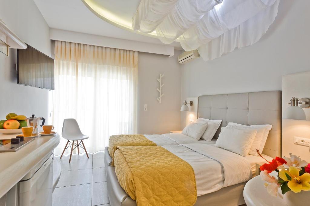 Letto o letti in una camera di Venezia Bungalows