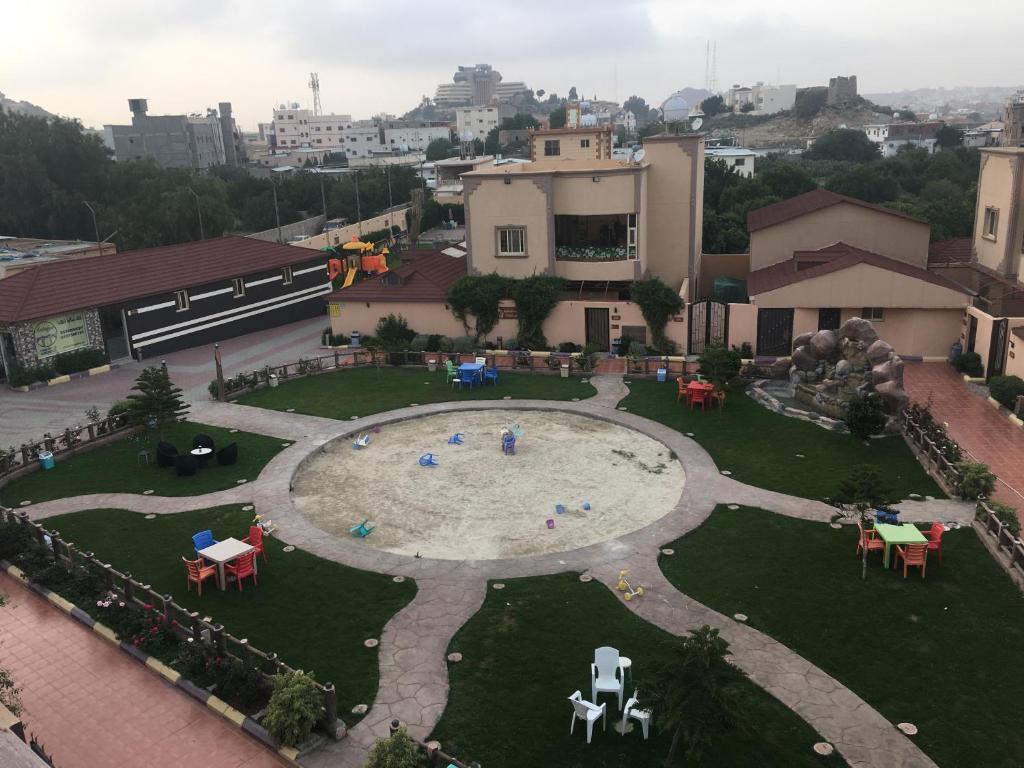 A bird's-eye view of Antalya Resort Al Hada
