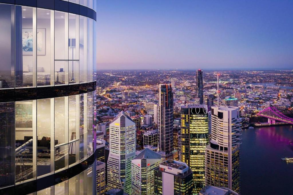 Luxury City view Apartment Brisbane City, Australia ...