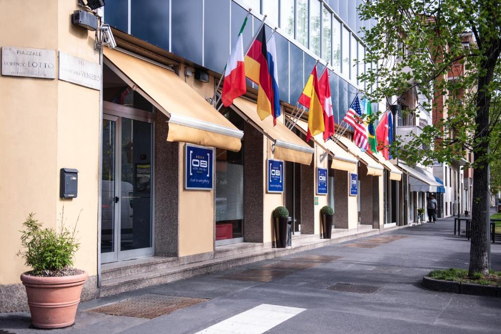 Hotel Oro Blu Milan Italy Booking Com