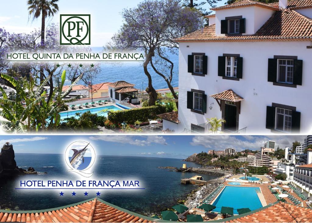 A view of the pool at Quinta Da Penha De Franca or nearby