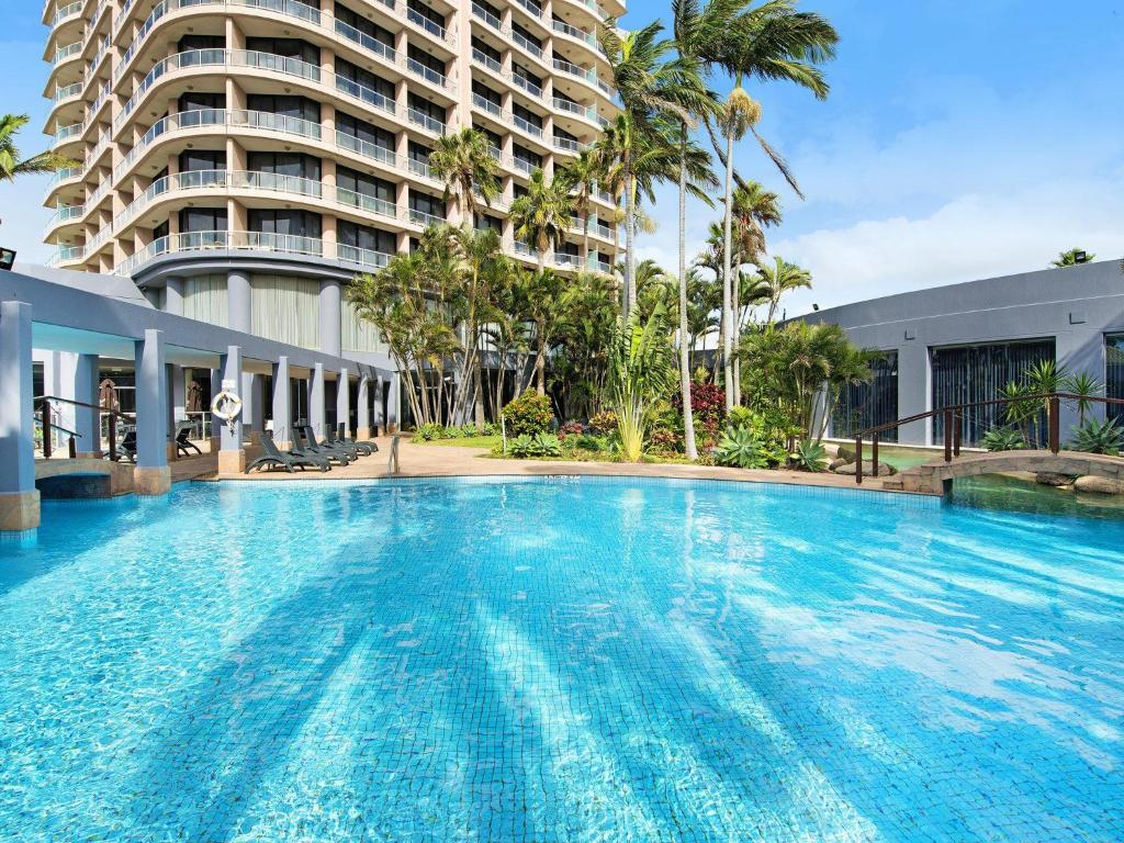 The swimming pool at or near Crowne Plaza - Surfers Paradise 2 Bed Ocean View