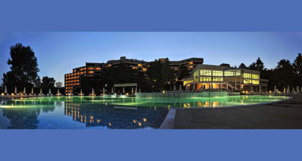 The swimming pool at or near Hissar Spa Hotel