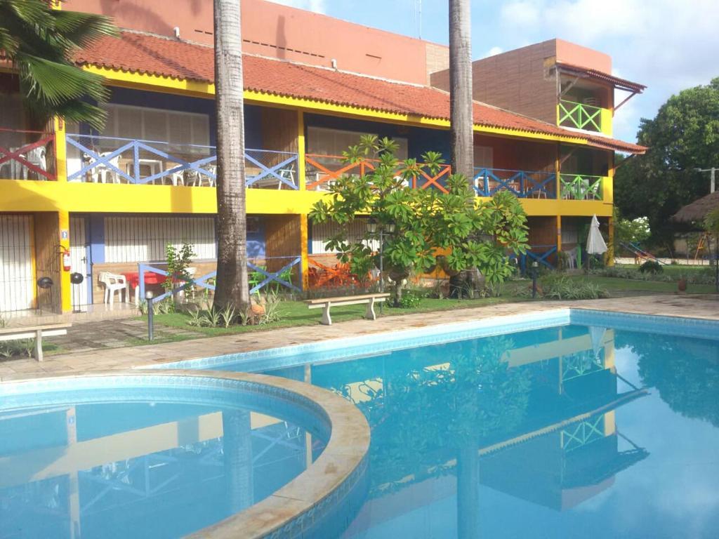 A piscina localizada em Pousada Recanto do Sossego ou nos arredores