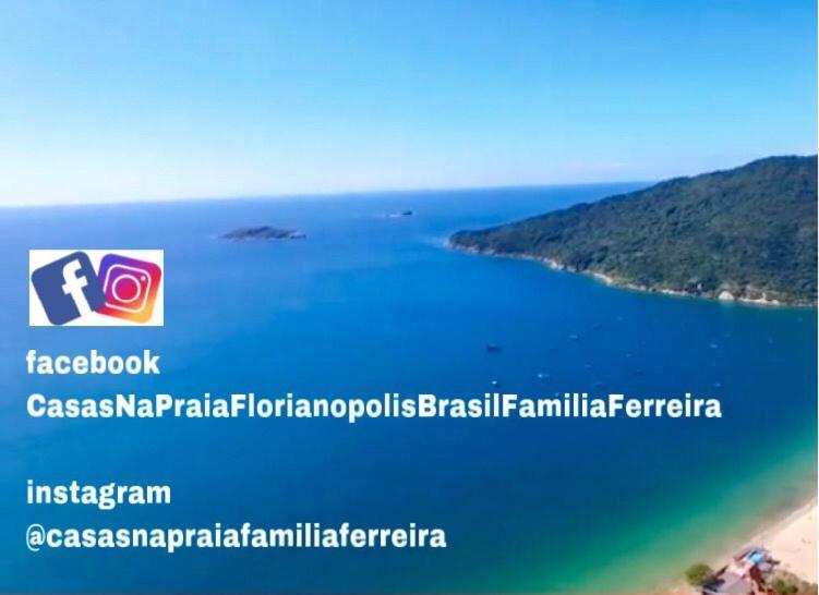 Tu Casa de la Playa Vacaciones en Florianópolis Brasil a vista de pájaro