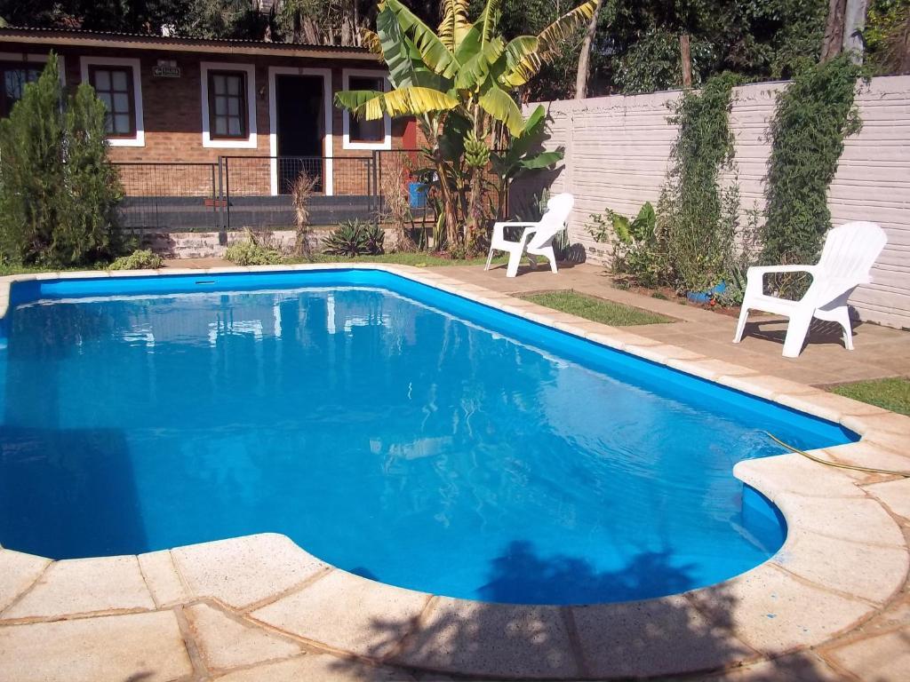 The swimming pool at or near Posada Iguazu Royal