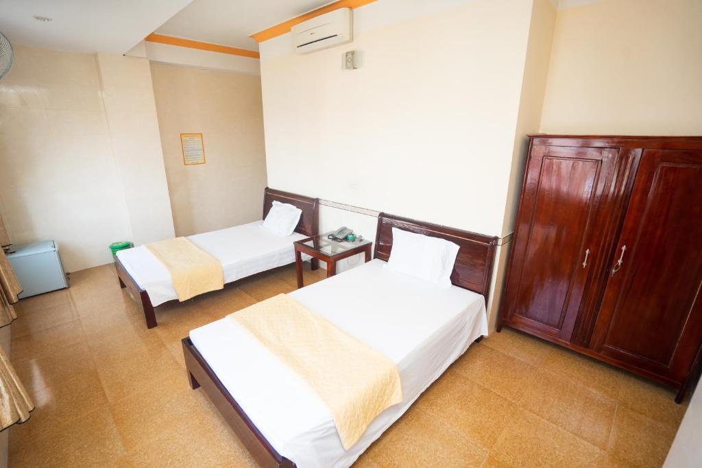 Phòng 2 Giường Đơn Có Vòi Sen