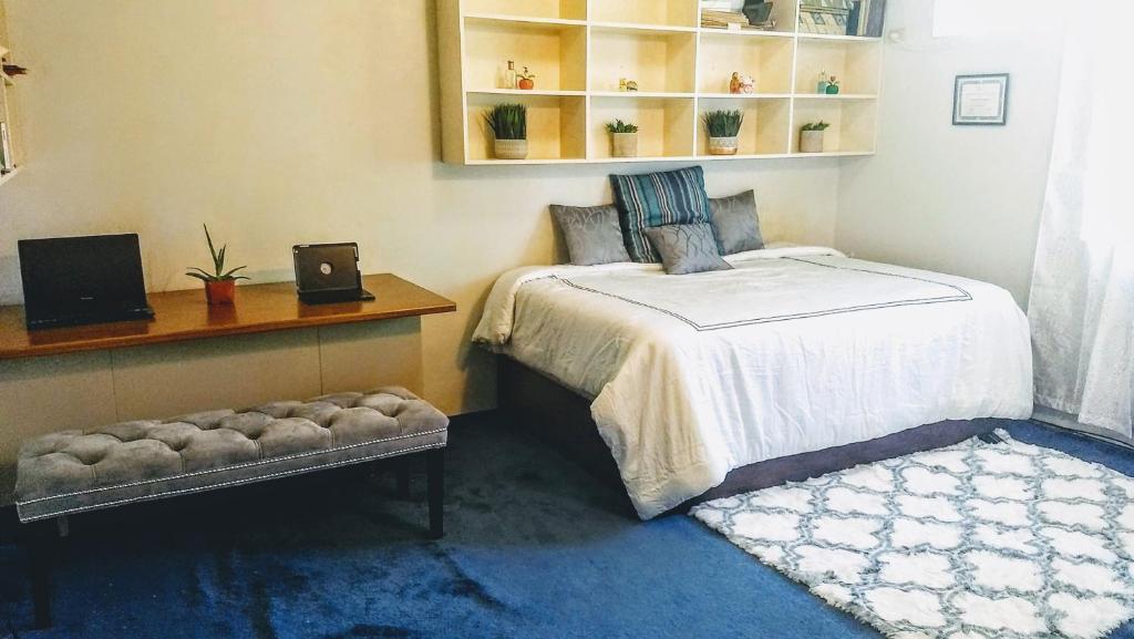 Postelja oz. postelje v sobi nastanitve 115 Tumon Heights Road