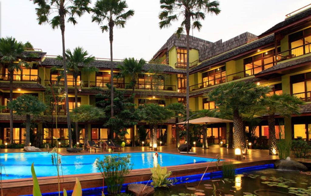 Piscina en o cerca de VC@Suanpaak Boutique Hotel & Service Apartment