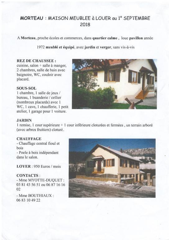 Ferienhaus LES 3 SOEURS (Frankreich Morteau) - Booking.com