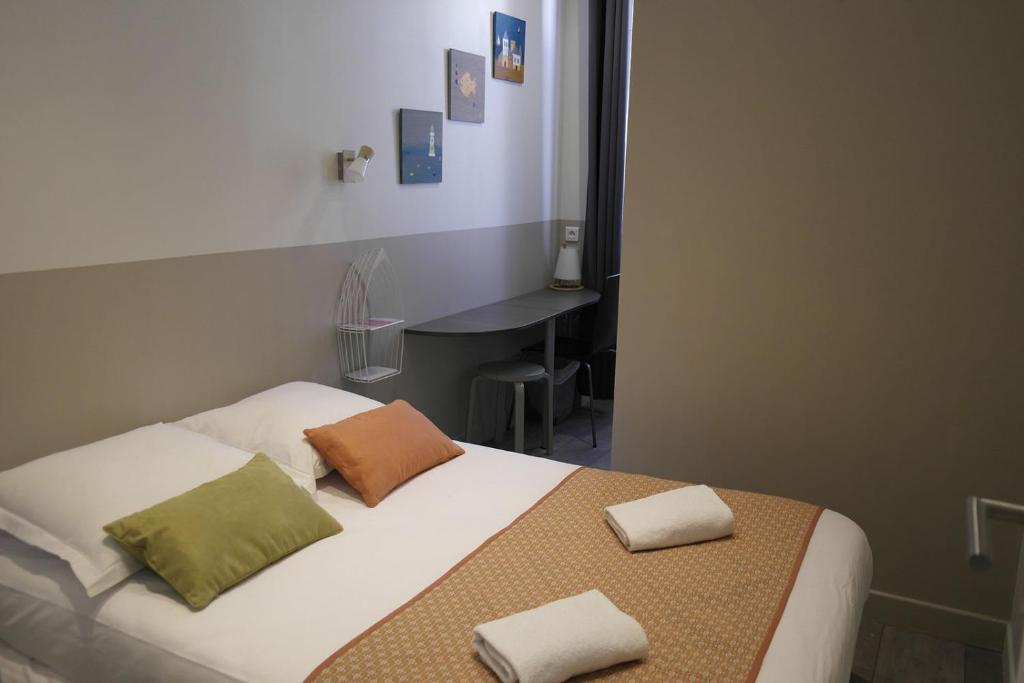 Un ou plusieurs lits dans un hébergement de l'établissement Le Cassiden