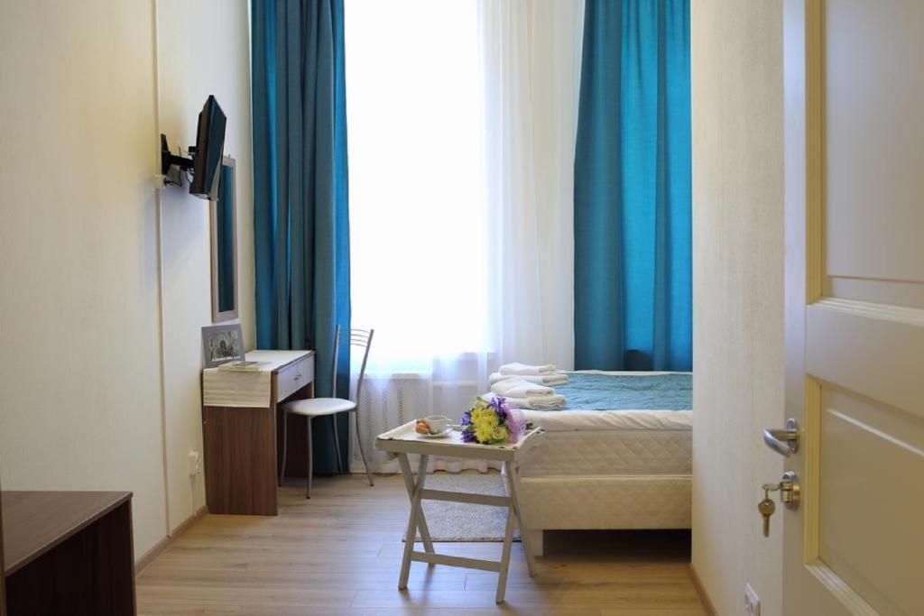 Cama ou camas em um quarto em Mark Hotel