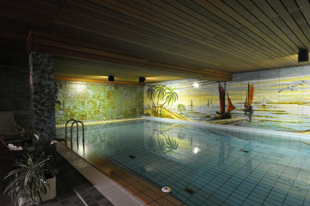 The swimming pool at or near Hotel Waldersee