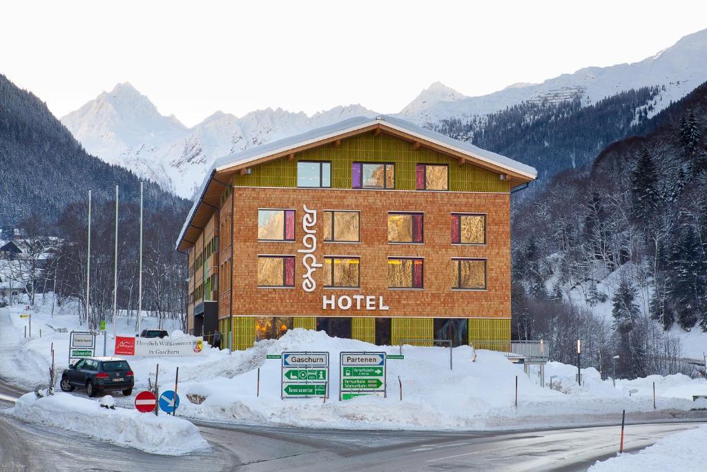 Explorer Hotel Montafon im Winter