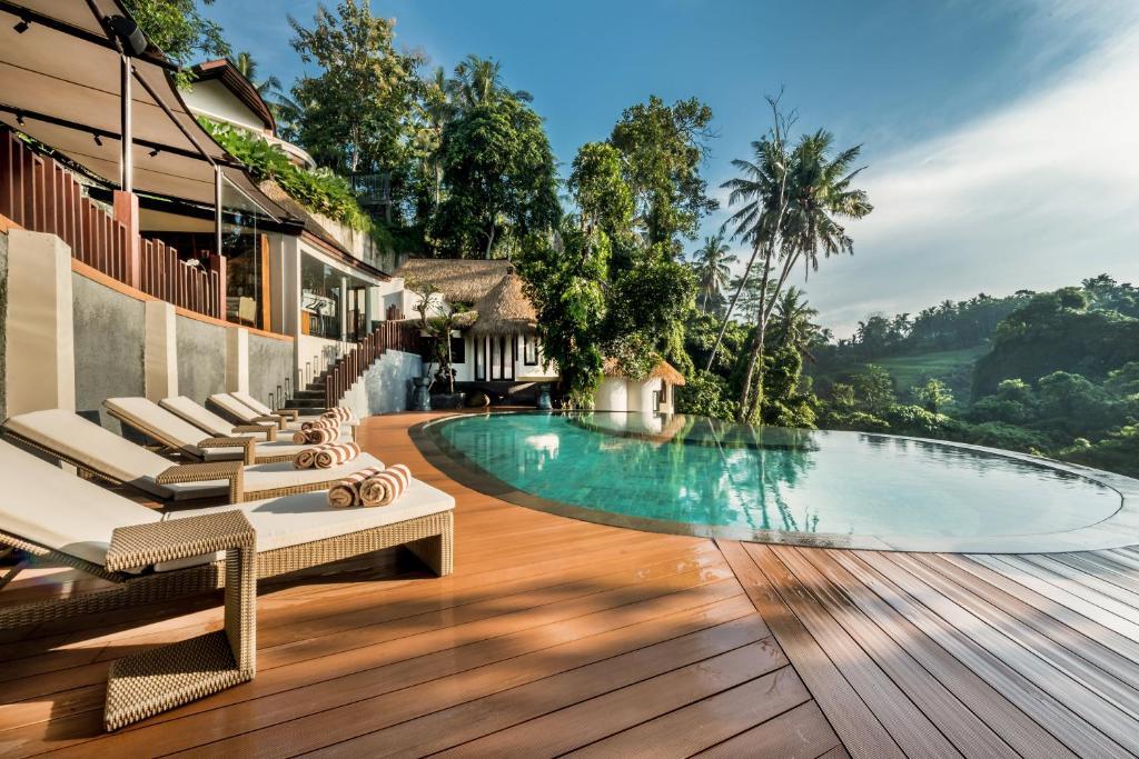 The swimming pool at or close to Tanadewa Resort & Spa Ubud