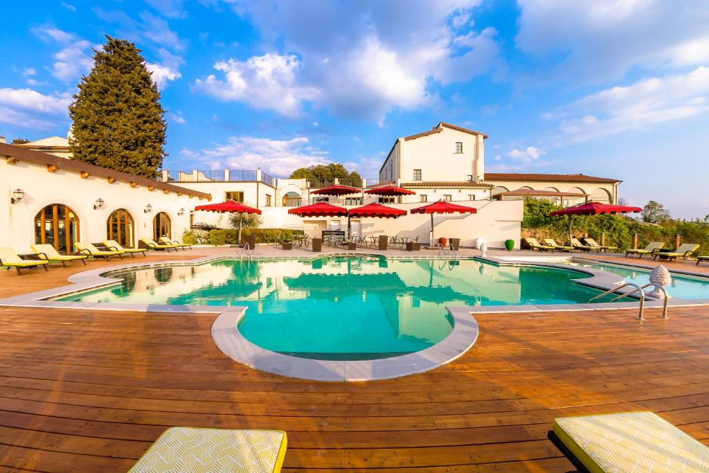 The swimming pool at or near Villa Tolomei Hotel&Resort