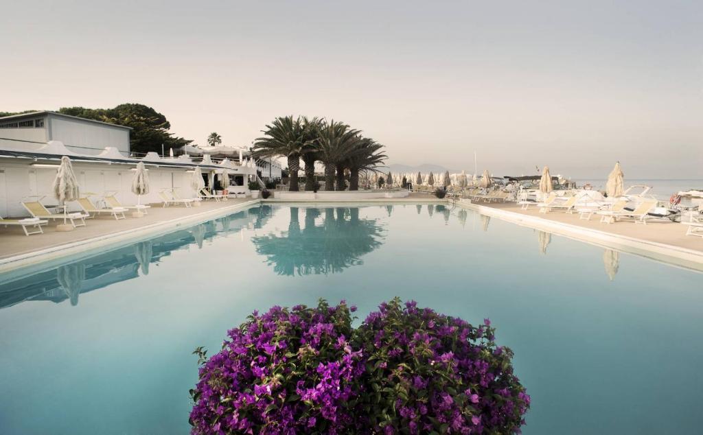 Piscina en o cerca de Circeo Park Hotel