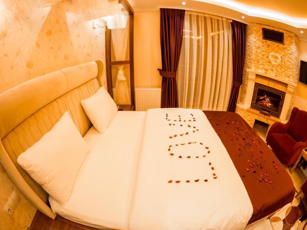 منطقة جلوس في Elif Inan Hotel