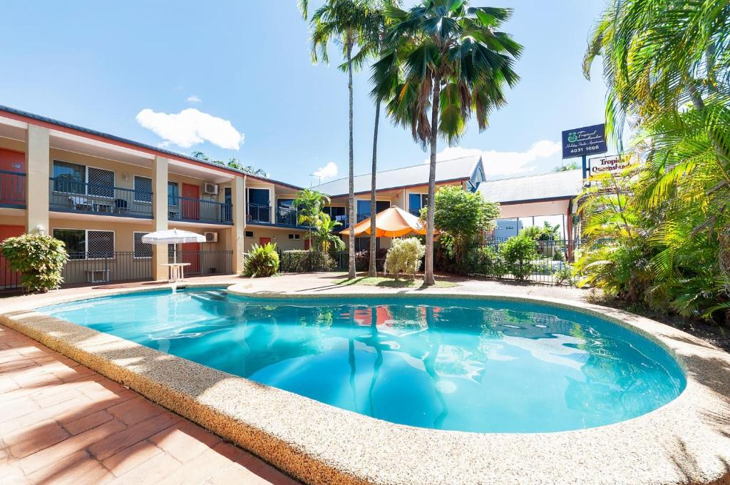 The swimming pool at or near Tropical Queenslander