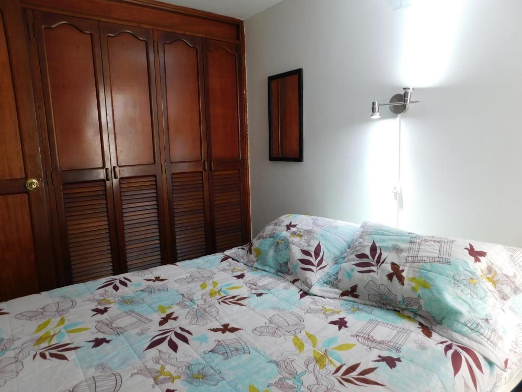 Cama o camas de una habitación en Habitación privada en Envigado