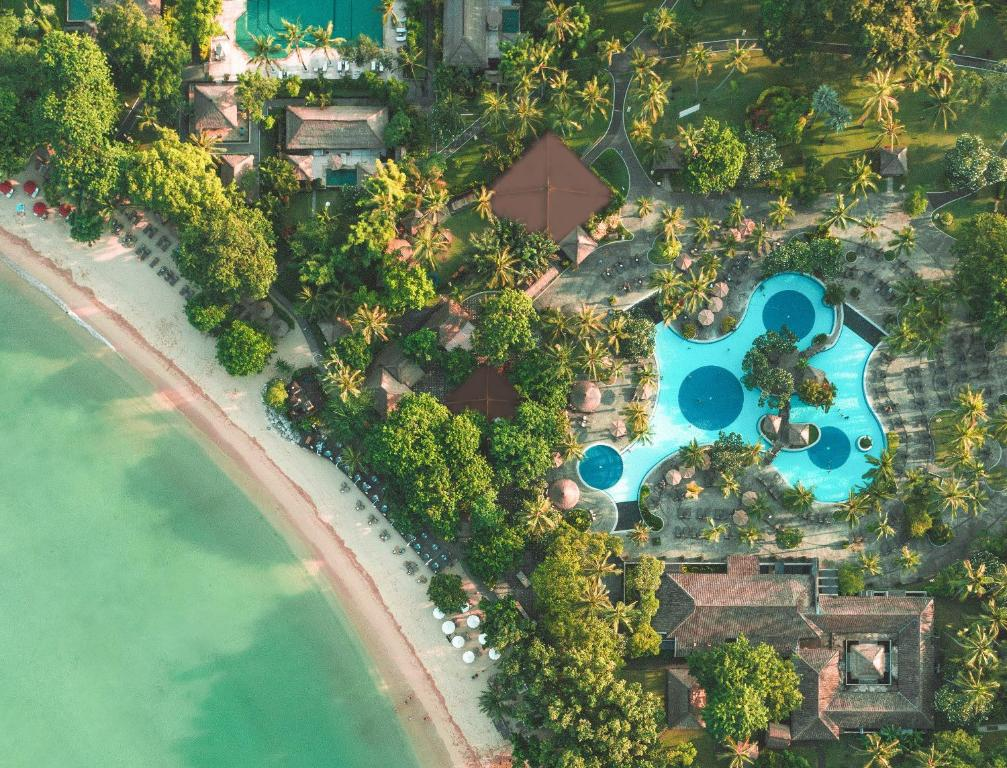 A bird's-eye view of Melia Bali