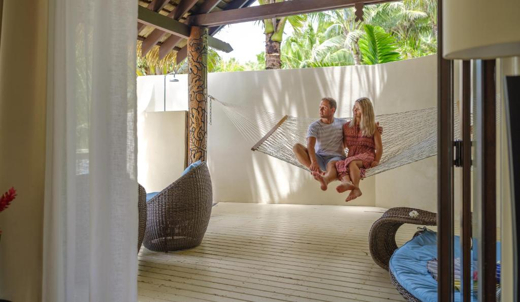 Children staying at Seabreeze Resort Samoa – Exclusively for Adults