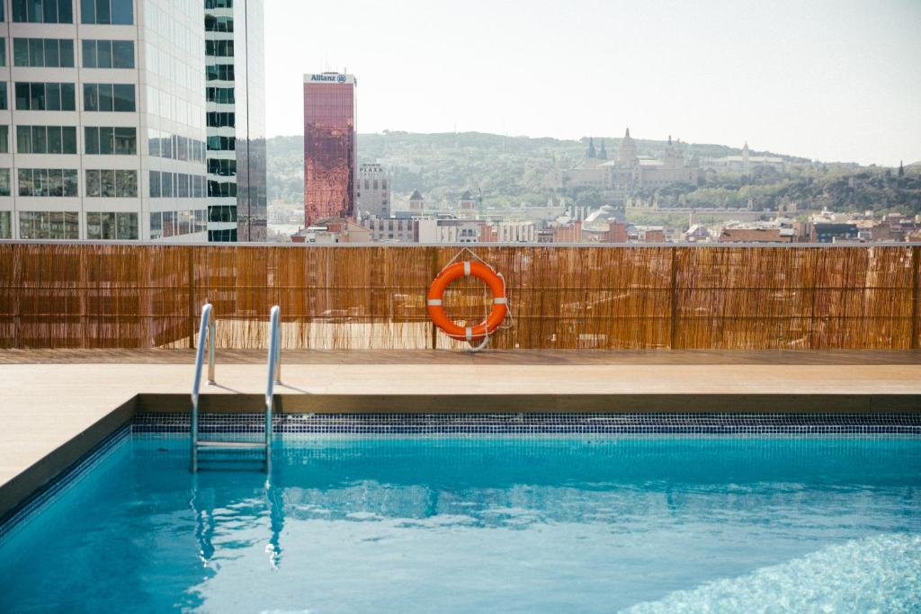The swimming pool at or close to Expo Hotel Barcelona