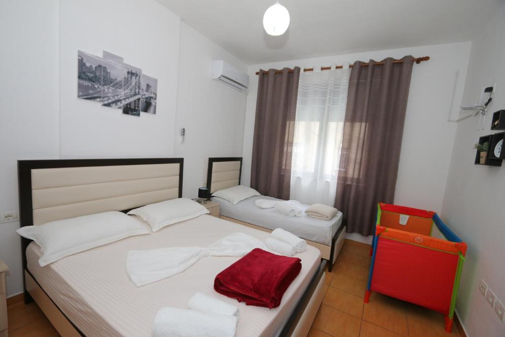 Letto o letti in una camera di Sweet Living Apartment