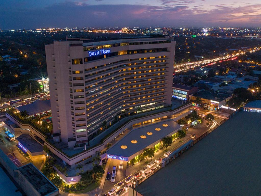 A bird's-eye view of Dusit Thani Manila