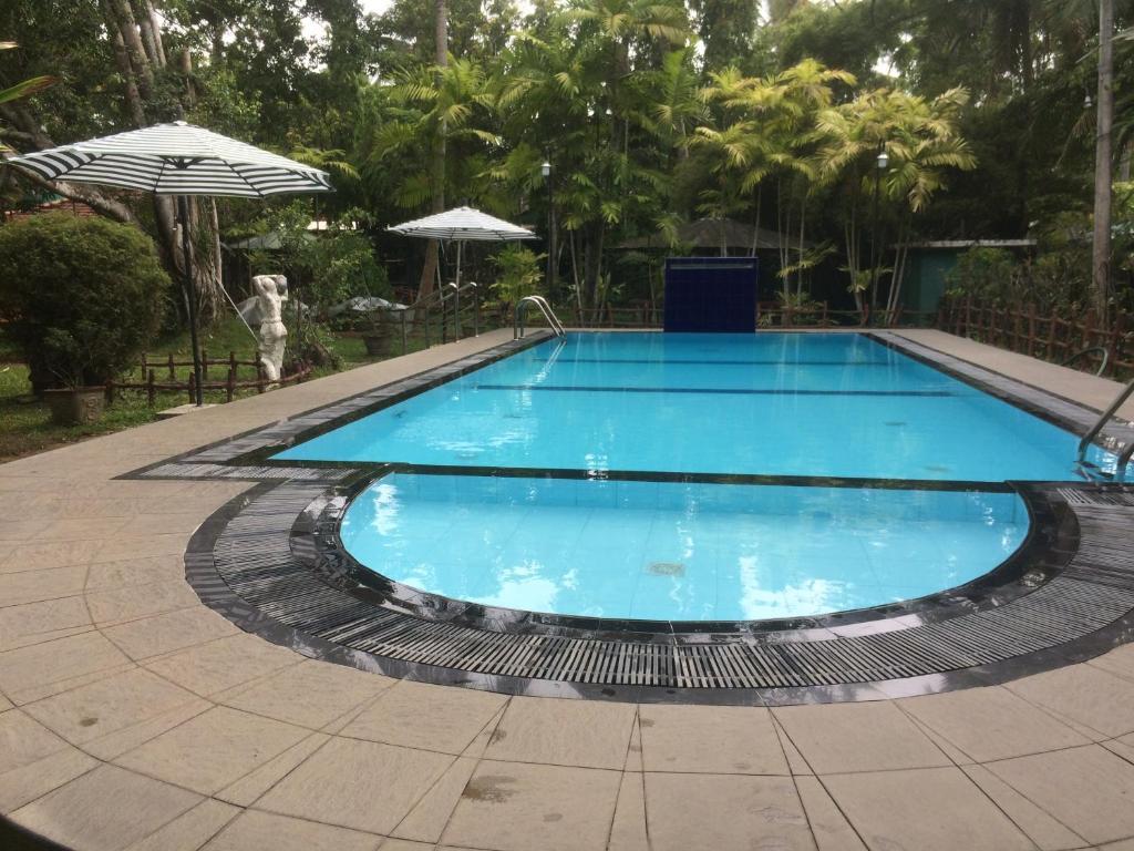 The swimming pool at or near Hotel Surasa