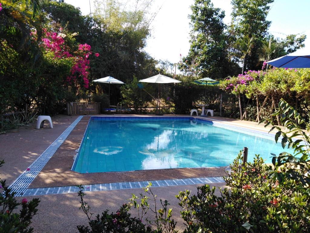 The swimming pool at or near Mountain View Guesthouse