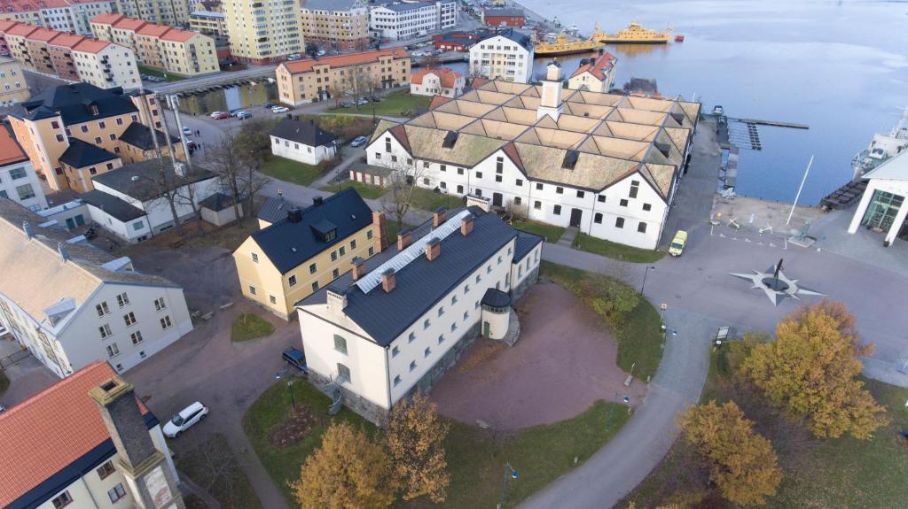 A bird's-eye view of Kronohäktet
