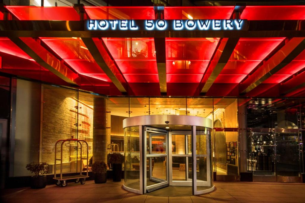 Hotel 50 Bowery New York Ny Booking Com