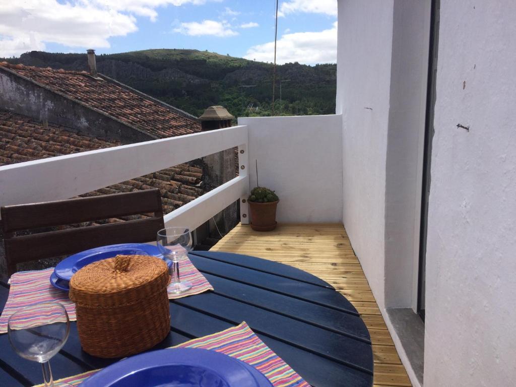 Ein Balkon oder eine Terrasse in der Unterkunft Casa da Vila