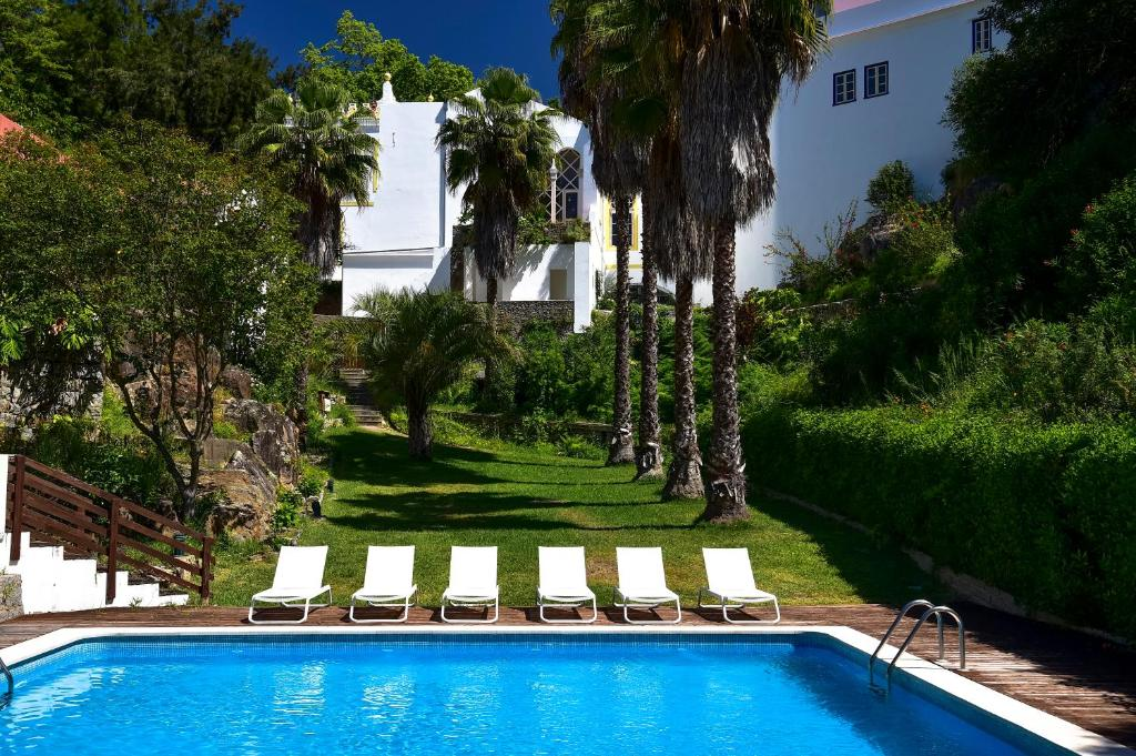 The swimming pool at or near Hotel Termal - Monchique