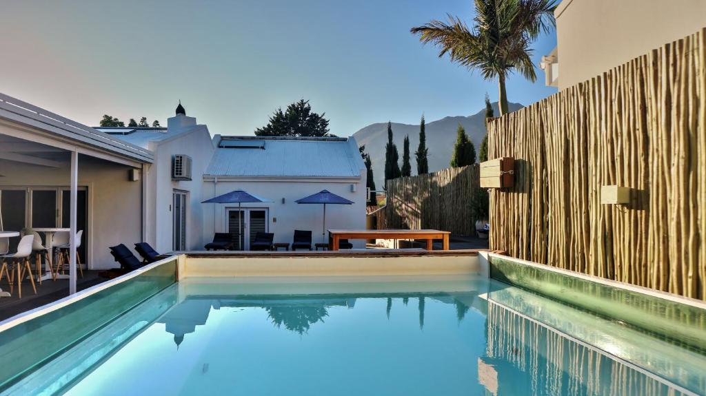 The swimming pool at or near theLAB Franschhoek