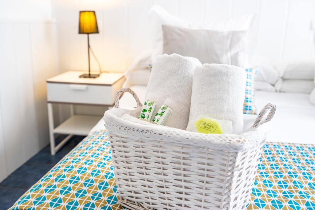 Cama o camas de una habitación en Elcano