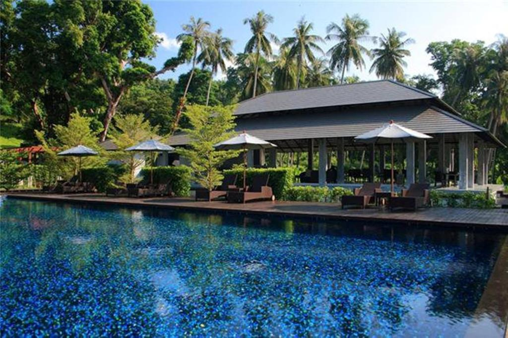 Piscina di Plub Pla Koh Mak Retreat o nelle vicinanze