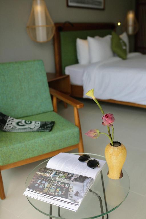 Phòng Grand Deluxe Giường Đôi Nhìn Ra Cánh Đồng Lúa