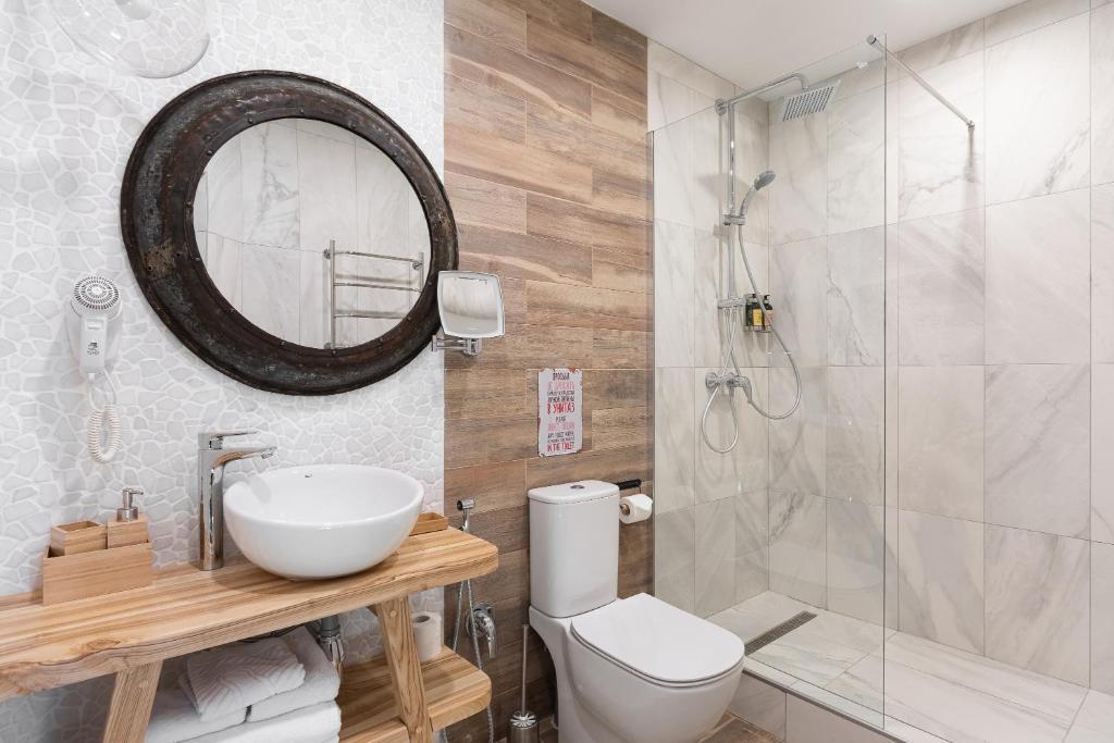 Ванная комната в Бутик-отель Truvor