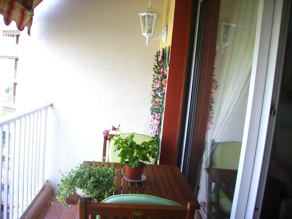 A balcony or terrace at Le Fairway