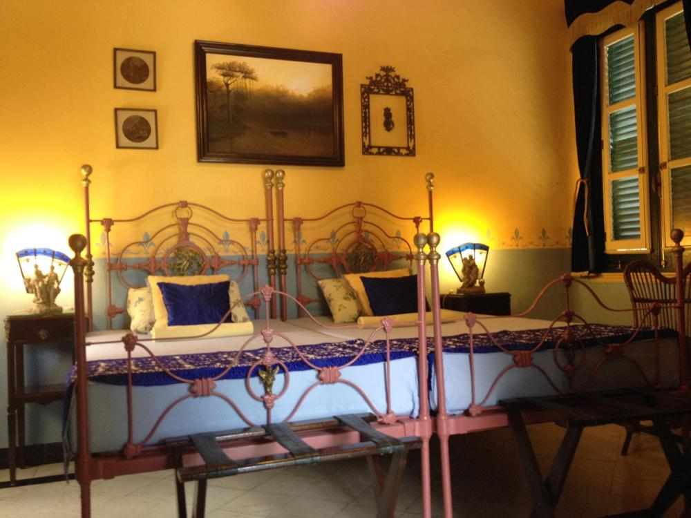 Cama ou camas em um quarto em CASA ANTIGUA