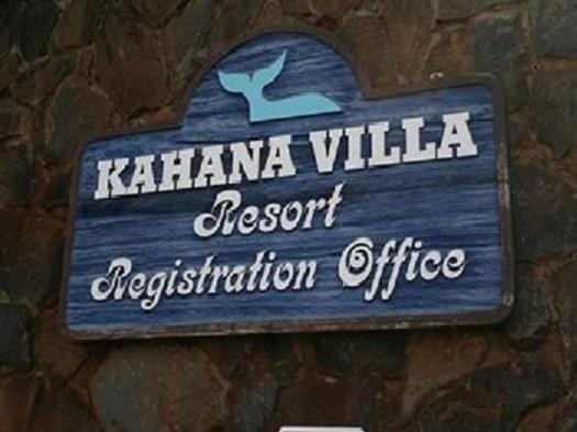 Kahana Villa