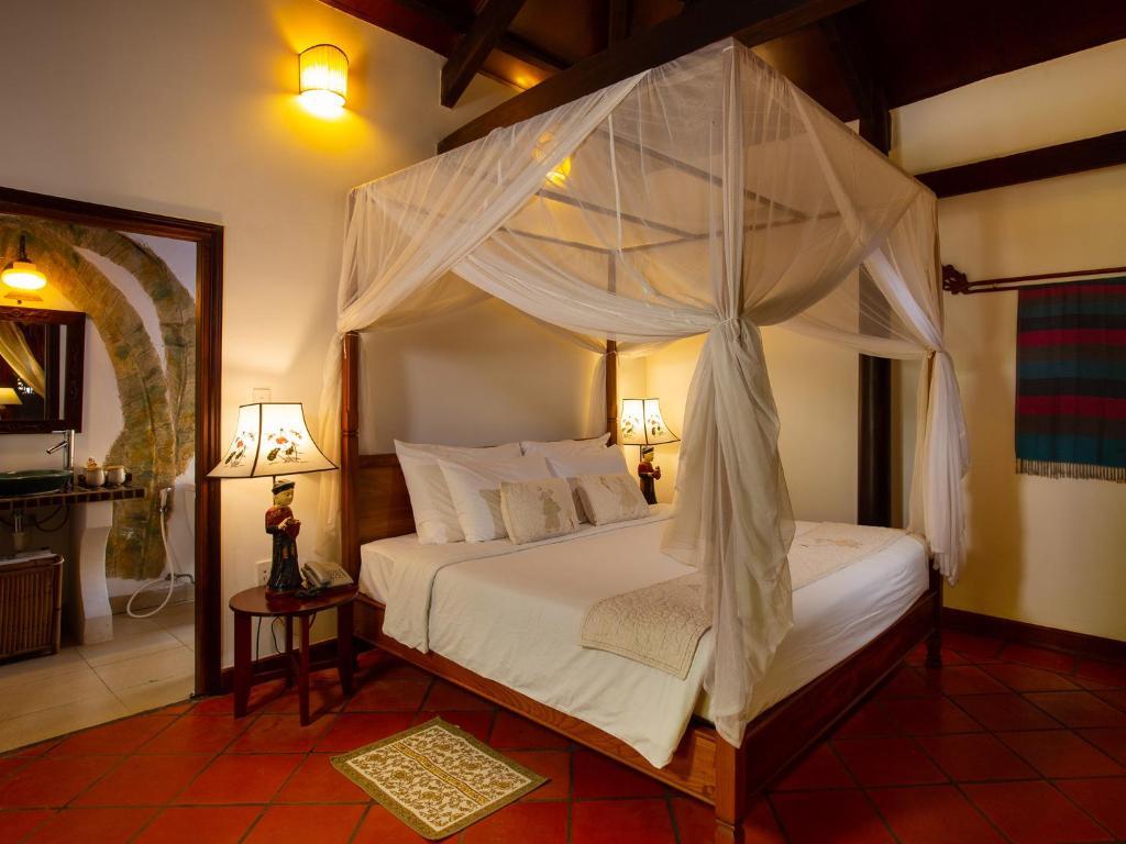 Phòng Premier Đôi hoặc 2 giường đơn nhìn ra vườn