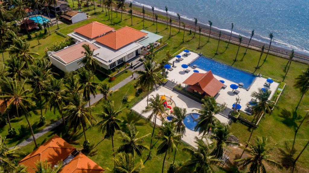 A bird's-eye view of Ketapang Indah Hotel