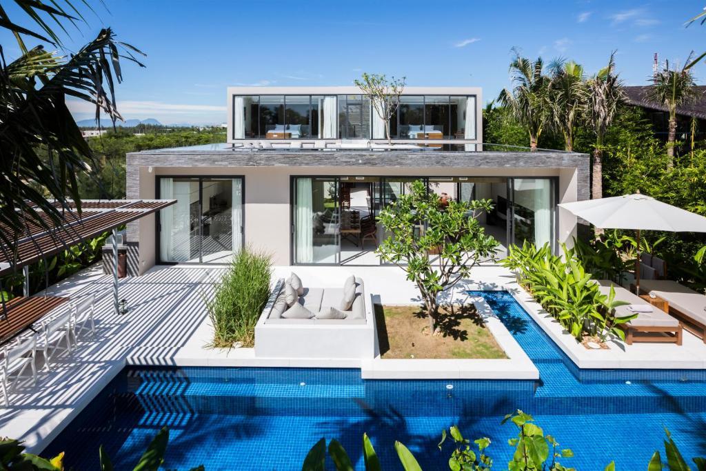 Biệt Thự Premier 3 Phòng Ngủ Với Hồ Bơi Riêng - Bao GồmDịch Vụ Đưa Đón Sân Bay & Spa