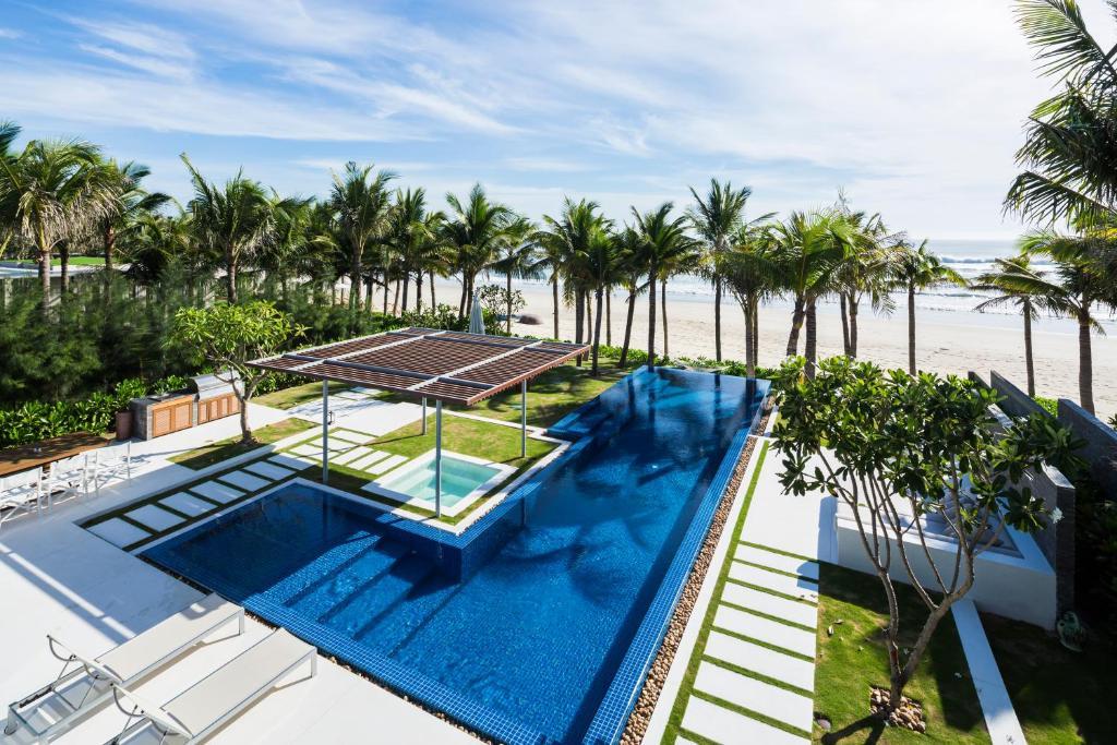 Biệt Thự Wave Có 3 Phòng Ngủ Nhìn Ra Biển - Bao Gồm Dịch Vụ Đưa Đón Sân Bay 2 Chiều & Spa