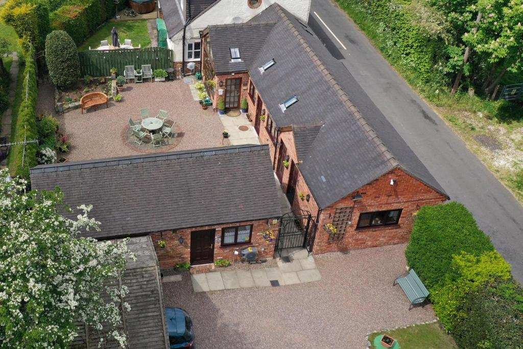 A bird's-eye view of High View Cottage