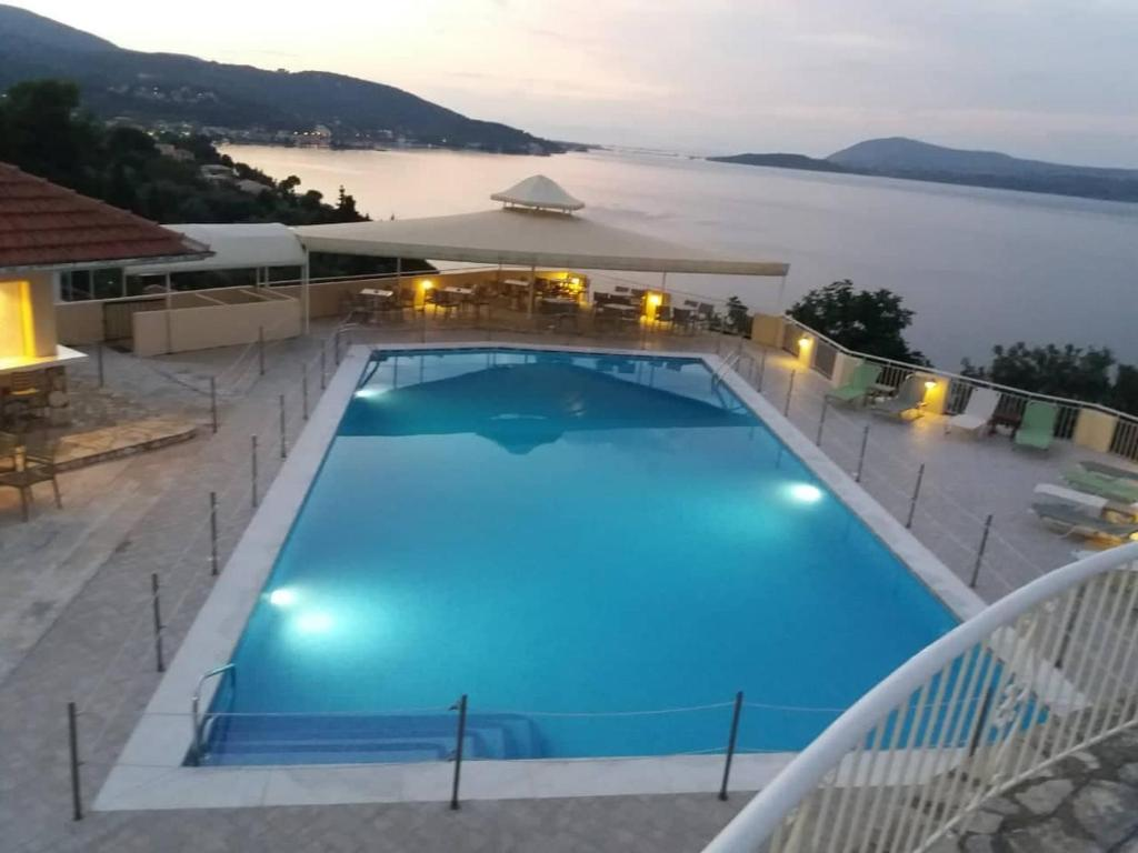 The swimming pool at or near Sunrise